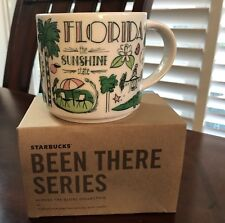 "STARBUCKS 14 fl ozs, BEEN THERE SERIES collectors mug ""Florida""  $32"