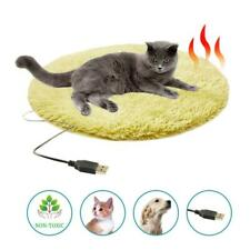 Pet Cat Bed Blanket Heated Pad Heating Electric Mat Dog Heater 27HV