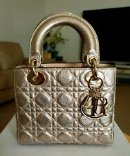 CHRISTIAN DIOR | Lady Dior Hand Bag *not Gucci Fendi Ysl Chanel Louis Vuiton Bag