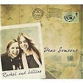 Rachel & Lillias - Dear Someone (2008)  CD  NEW/SEALED  SPEEDYPOST