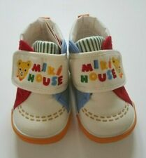 New Miki House Children's Multi-Colored Strap Shoes [Sizes 12 - 14.5cm]