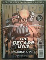 WIZARD COMICS MAGAZINE #219 Gold January 2010 Sealed, Astonishing X-Men cover