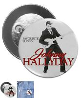 Pin Button Badge Johnny hallyday
