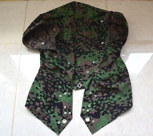 Replica REVERSIBLE WWII WW2 German Camouflage Plane Tree Color tent cloth Poncho