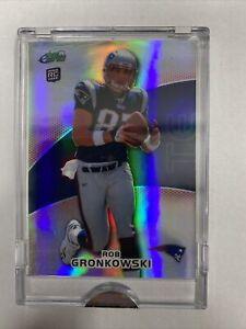 2010 eTopps Rob Gronkowski 315/699 Rookie Card RC refractor sealed! MINT!! 📈🔥