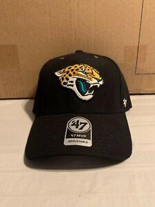 Jacksonville Jaguars NFL '47 Brand Carhartt Mens Black MVP Adjustable Hat