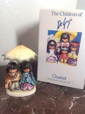 GOEBEL DE GRAZIA Figurine SUN SHOWERS LTD ED. Low Number! 0002/5000 RARE, W Box