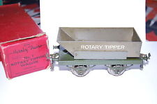 HORNBY GAUGE 0 WAGON A BASCULE ROTATIVE SIR ROBERT Mc ALPINE ET SON LONDON N° 1
