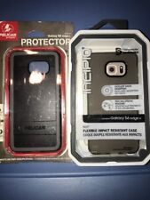 Lot Of 2pc Samsung S6 Edge + Case , Incipio Case ,pelican Case