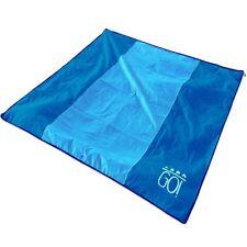 NEW GO! XL Waterproof Beach Blanket / Picnic Blanket Mat 7x7 Lightweight Compact