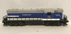 Lionel No. 2337 Wabash Road GP-7 Diesel Locomotive, Blue/White/Gray