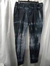 a.n.a A New Approach - Women's Jeggings - Size 30/10 - Black Tie dye
