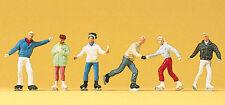 Preiser 10315 H0 Figurines schlittschuhläufer # New original packaging #