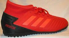 Kid'S Adidas Predator Tango 19.3 Tf J Red/Black Indoor Soccer Shoes Size 5.5