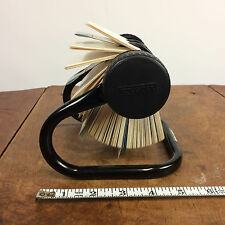 Vtg 80s 90s Rolodex Office Desk Telephone Address Directory Book Organizer File