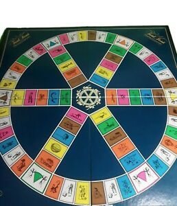 Trivial Pursuit BOARD ONLY Replacement