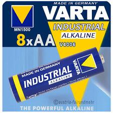 """""""8x VARTA Batterie MIGNON AA V4006 LR6 INDUSTRIAL"""