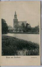 Germany AK Nordhorn 48527–48531 - Vechtepartie old postcard