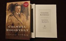 Edmund Morris Colonel Roosevelt Signed Book 1/1 HC DJ Pulitzer National Award