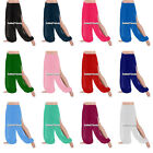 25 Colors Women Chiffon Slit Harem Yoga Pant Belly Dance Costume Tribal S to 3XL