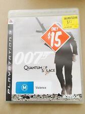 007 Quantum Of Solace PS3 Games