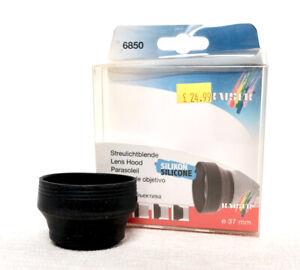 KAISER GERMANY 37mm Round Rubber lens hood for camera lens