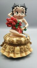 "Vintage Betty Boop music box ""I Wanna Be Loved by You� 1999 #6855"
