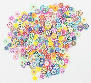 Polymer Clay Flowers Fruits Nail Art Stickers Decor Decoration Scrapbooking DIY