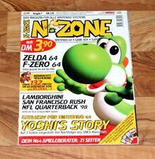1997 Nintendo 64 Magazine ClayFighter 63⅓ Yoshi's Story Zelda 64 F-Zero X Turok