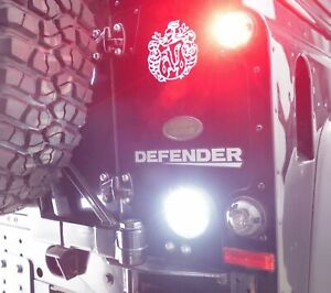 LED RÜCKFAHRLICHT SCHWARZ LAND ROVER DEFENDER TD4 TD5 PLUG & PLAY RÜCKLICHT