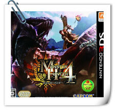 3DS Nintendo MONSTER HUNTER 4 Action Capcom