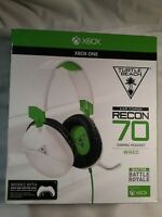 Turtle Beach Recon 70 Gaming Headset for Xbox One & PlayStation 4 - White/Green