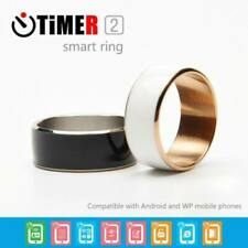 Smart Magic Ring Timer2 MJ02 NFC For Android IOS Mobile Phone Ring Size 11-12