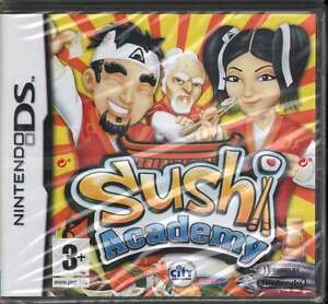 Sushi Academy Videogioco Nintendo DS NDS Sigillato 5906961197658
