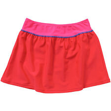 H2O Older Girls Sporty Swim Skirt Beach Holiday Cover Up Blue Red 7-13 Years