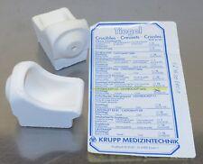 Schmelztiegel für Centrocast C2 Table Gußschleuder Krupp Zahntechnik Dental