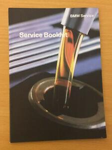 BMW Service Book BMW SERVICE HISTORY BOOK 5 SERIES 520I 520D M SPORT SE S