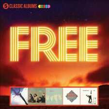 FREE - FIVE CLASSIC ALBUMS NEW CD