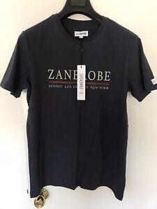 Z x Zanerobe Men T-Shirt Navy Blue New (S)