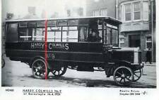 Hardy Colwills Leyland Bus Barnstaple Devon Pamlin repro photo postcard M2460