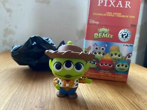 Woody - Funko Mystery Minis Pixar Remix Aliens 1/6 Toy Story NEW Vinyl Figure