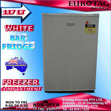 EUROTAG EU-103RW 117L WHITE  BAR FRIDGE BRAND NEW RRP$345.00