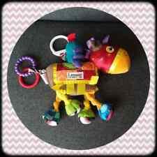 Peluche Doudou Jouet d'éveil Lamaze cheval à suspendre multicolore TBE 27cm