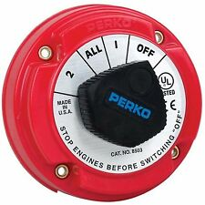 Perko 8503DP 250A Battery Selector Switch W/ Alternator Field Disconnect