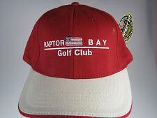 NEW Red Raptor Bay Golf Club Hat w/ perfect fit by Legnedary (B620)