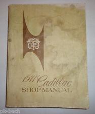 Werkstatthandbuch / Service Manual Cadillac 1971 Calais DeVille Fleetwood etc.