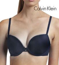"Calvin Klein Push Up Soutien-Gorge 75 C denimblau ""NAKED GLAMOUR"" f3317e"