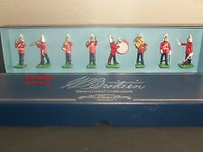 BRITAINS 00154 BAND OF THE LIFEGUARDS METAL TOY SOLDIER FIGURE 8 PIECE SET