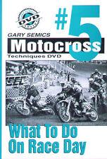 Motocross MX Instructional, Race, DVD #5 from Volume 1 by Gary Semics