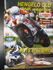Programmaboekje ONK Wegrace Hengelo Gld 18-19-20 mei 2012